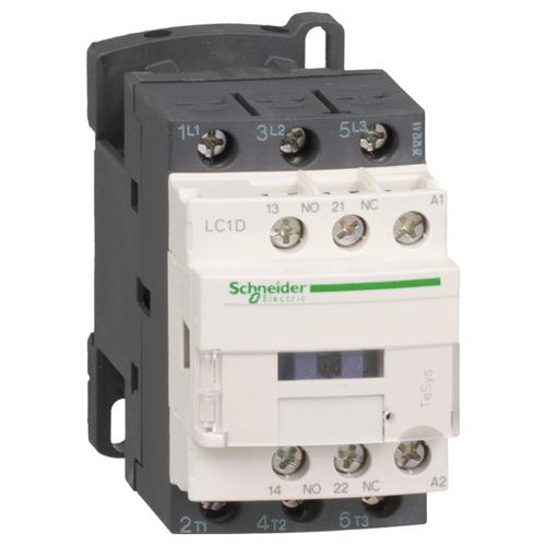 Контактор D 3P, 9А AC-3, катушка управления 48B AC, НО+НЗ