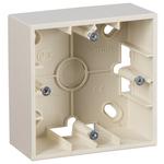 Simon15 Коробка для наружного монтажа на 1 пост слоновая кость (1590751-031)