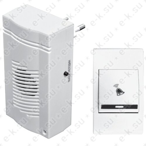 Звонок беспроводной Комфорт КМ-01С 32 мелодии дальность 100 м 220В (КМ-01С)