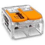 Клемма 2-проводная до 6мм² с рычагами для всех типов проводников