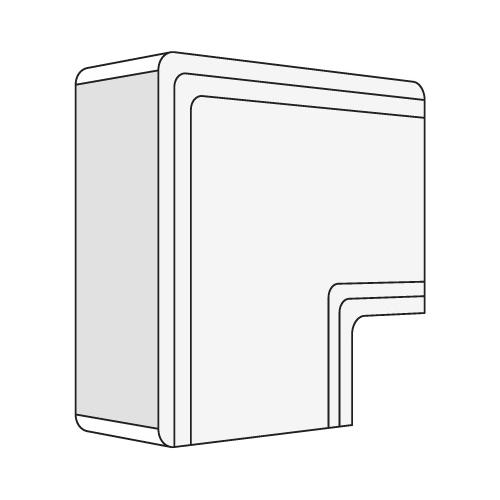 Угол плоский Г-образный 100x60 NPAN IN-Liner (01745)