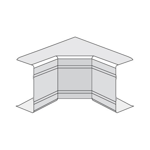 Угол внутренний неизменяемый 100x60 90 градусов NIA In-liner (01829)