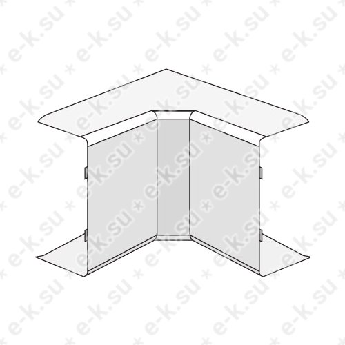 Угол внутренний 40x17 AIM In-liner (00395)