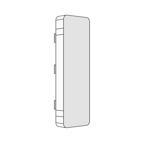 Заглушка для кабель-канала 80x60 торцевая LАN In-liner (00872)