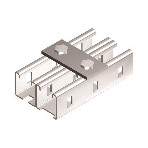 Пластина соединительная 90мм 2отверстия горячеоцинкованная (BMD1011HDZ)