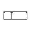 Миниканал TMC 50/2x20 с перегородкой (00314)