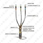Муфта кабельная концевая 10КВТп-3ж (150-240)