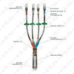 Муфта кабельная концевая 1ПКНТп (Б)-5ж (70-120)