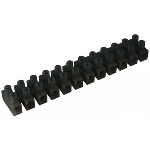Клеммник 3П 85 градусов 450V 32А 6мм.кв. полипропилен черный (43303PL/RR)