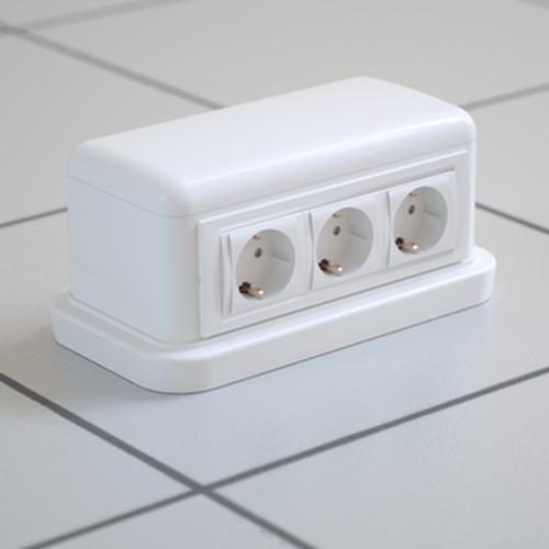 Башенка BUS 12 модулей белая (09050)