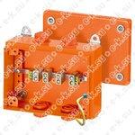 Коробка клеммная 5 положений до 105мм2 150х200х80 IP66 пожаростойкая (FK 9105)