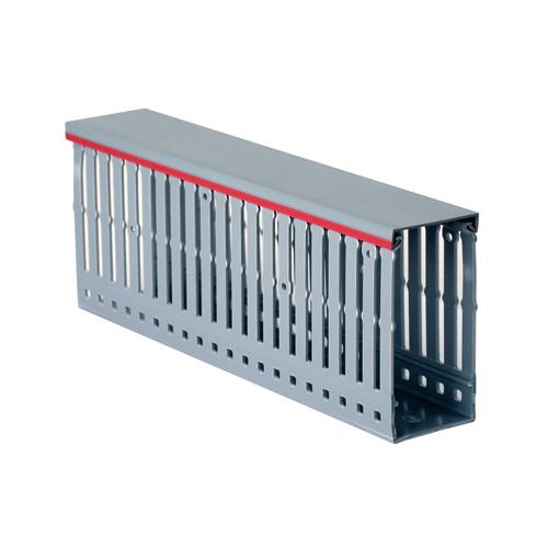 Короб перфорированный RL12 25x60 серый QUADRO (00136RL)