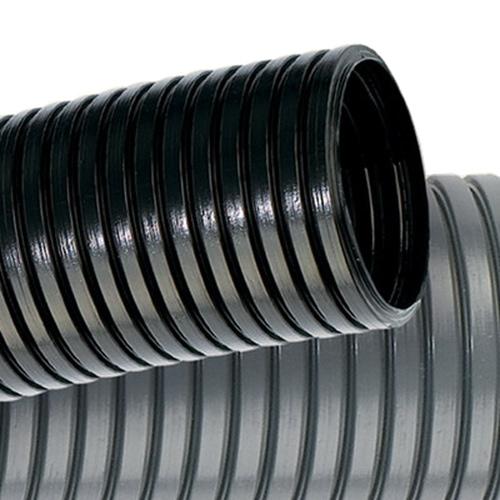 Труба гофрированная ПА 6 (полиамид 6) DN23мм ПВ-2 Øвн 22.6мм Øнар 28.5мм чёрная без протяжки (PA602329F2)