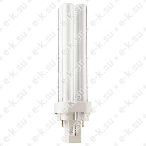 Лампа энергосберегающая КЛЛ 13Вт PL-C 13/840 2p G24d-1 (062086670)