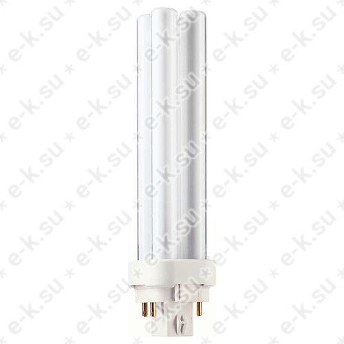 Лампа энергосберегающая КЛЛ 18Вт PL-C 18/840 4p G24q-2 (62334870)