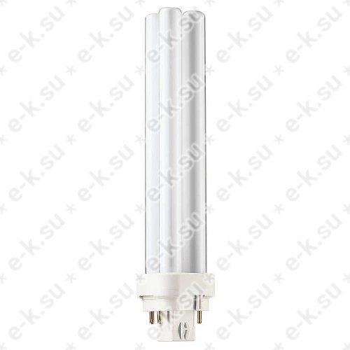 Лампа энергосберегающая КЛЛ 26Вт PL-C 26/830 4p G24q-3 (062335570)
