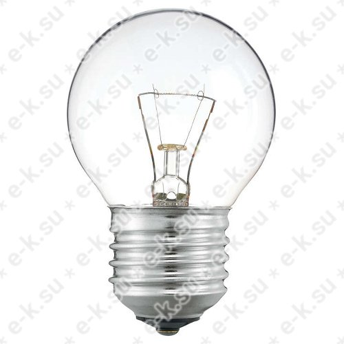Лампа накаливания декоративная ДШ 40вт P45 230в E27 (шар) (01188650)