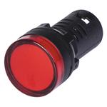 Индикатор сигнальный со встроенным диодом красный 220В (ALIL1L220)