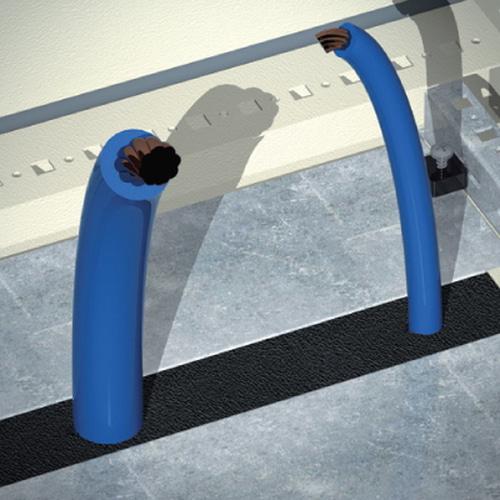 DAE/CQE Уплотнитель для ввода кабеля для шкафов 600мм (R5FPC600)