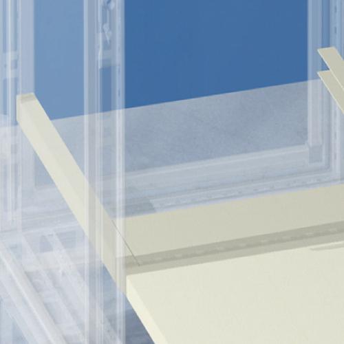 Полка выдвижная Г = 600 мм для шкафов CAE/CQE шириной 600 мм (R5RE660)