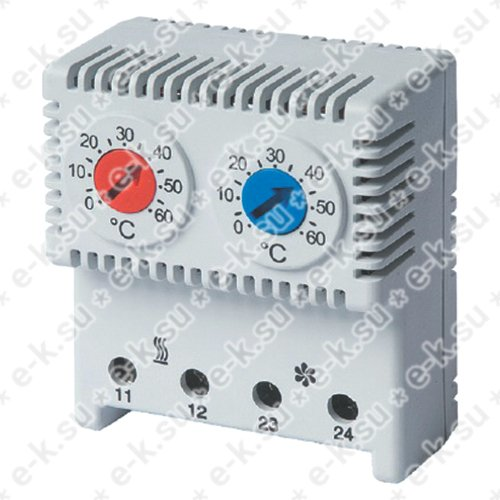 Термостат сдвоенный диапазон температур для NC контакта: 10-50 гр. для NO: 20-80 гр. (R5THRV13)