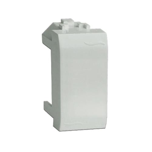 BRAVA Заглушка 1 модуль белая (76616B)